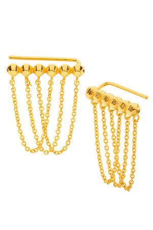 Gorjana Gold Rush Ear Climbers
