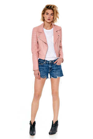 Blank NYC Bits and Pieces Denim Shorts