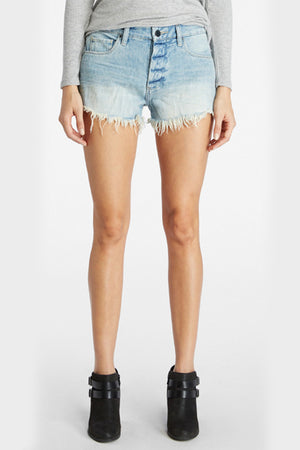 Blank NYC Chip Tease High Rise Denim Shorts - Savoir-Faire | Women's Clothing Boutique