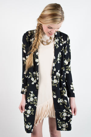 Better With Time Blazer - Savoir-Faire | Women's Clothing Boutique