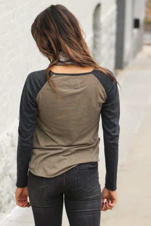 Chaser Brand Shirred Jersey Tee - Savoir-Faire | Women's Clothing Boutique