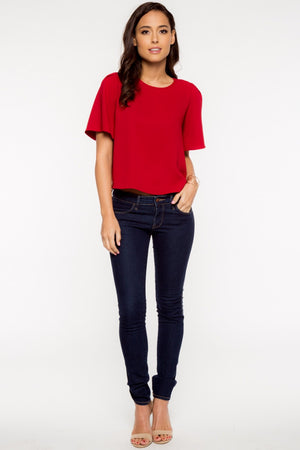 Big Apple Red Top - Savoir-Faire | Women's Clothing Boutique