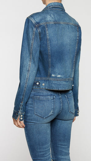 Blank NYC Toe Jam Denim Jacket - Savoir-Faire | Women's Clothing Boutique