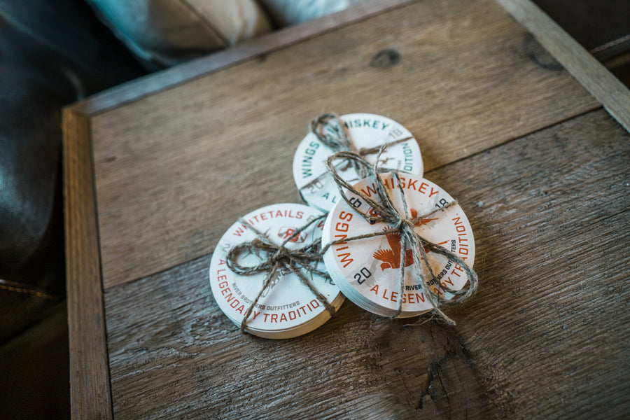 Whiskey Coasters - 10 Pack