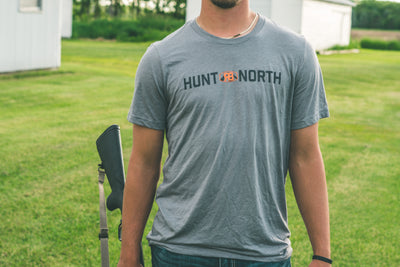 Hunt North Tee - Grey