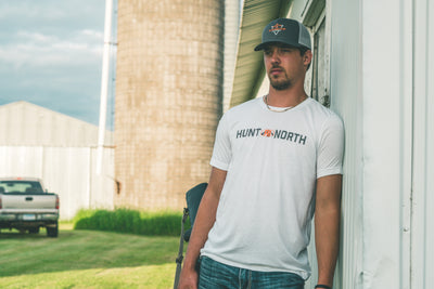 Hunt North Tee - White