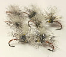 Load image into Gallery viewer, multiple parachute orange dry flies