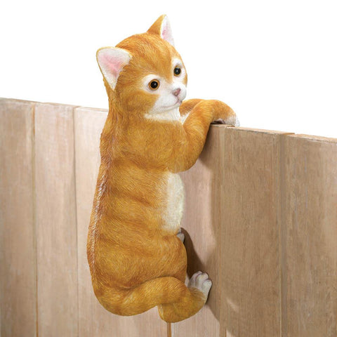 "Climbing Cat ""Amber"" Decor"