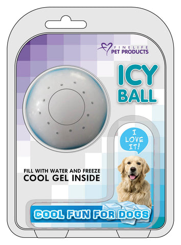 DOG ICY BALL