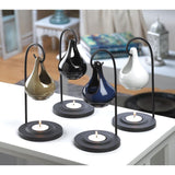 Black Tear Drop Oil Warmer