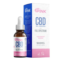 Strawberry Banana CBD Oil - 500mg