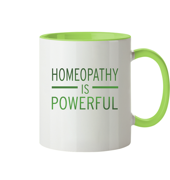 Homeopathy is powerful - Tasse