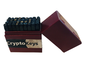 "Crypto-Keys® Backup Plate ""the sandwich"" w/Protective Cover Plates Package Set"