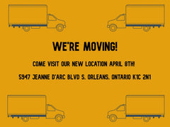 Store Moving to New Location!