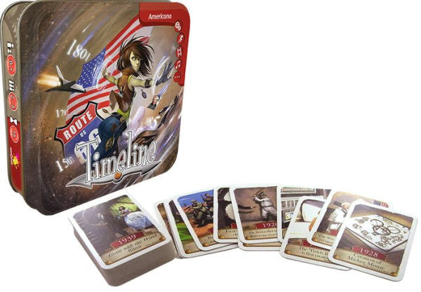 Timeline: Americana | Kessel Run Games Inc.