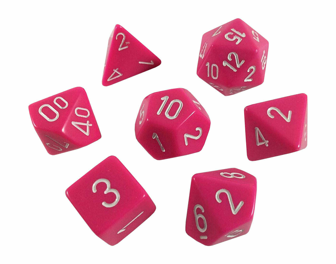Opaque: 7pc Polyhedral Dice Sets | Kessel Run Games Inc.