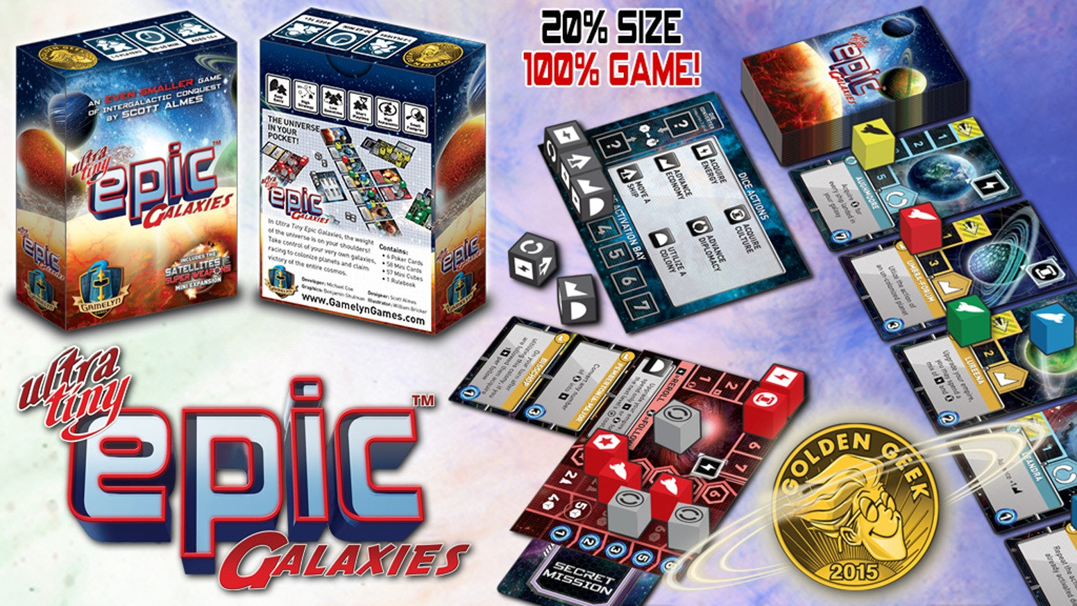 Ultra Tiny Epic Galaxies | Kessel Run Games Inc.