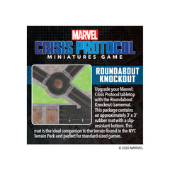 Roundabout Knockout Gamemat | Kessel Run Games Inc.