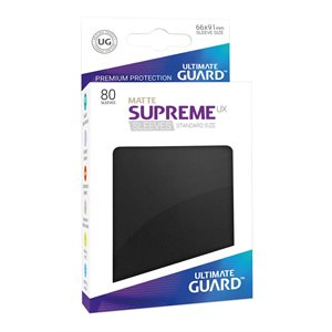 Supreme UX Matte Sleeves 80CT | Kessel Run Games Inc.