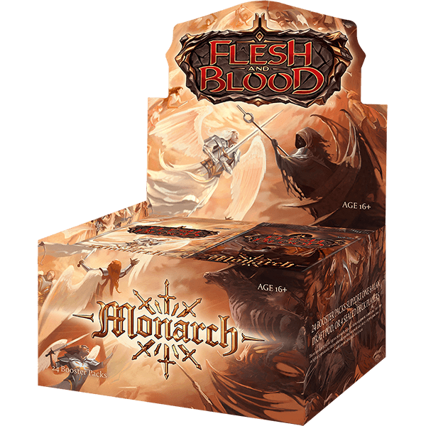 Flesh and Blood: Monarch Booster Box (1st Edition) | Kessel Run Games Inc.