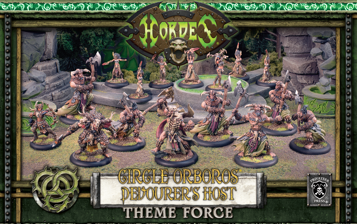 Circle Orboros Devourer's Host Theme Force | Cascade Games | New Zealand