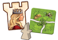 Carcassonne: Expansion 3 – The Princess & The Dragon | Kessel Run Games Inc.