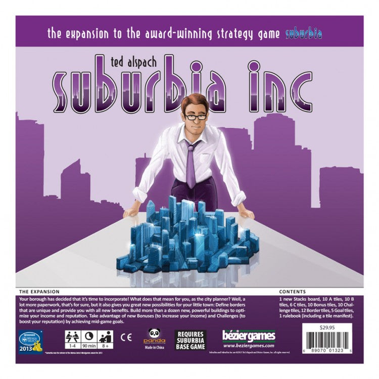 Suburbia Inc. | Kessel Run Games Inc.