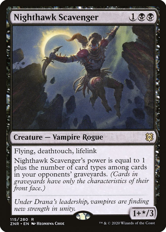 Nighthawk Scavenger [Zendikar Rising] | Kessel Run Games Inc.