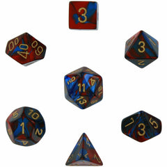 Gemini: 7pc Polyhedral Dice Sets | Kessel Run Games Inc.