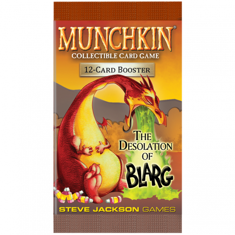 Munchkin Collectible Card Game: The Desolation of Blarg Booster Pack