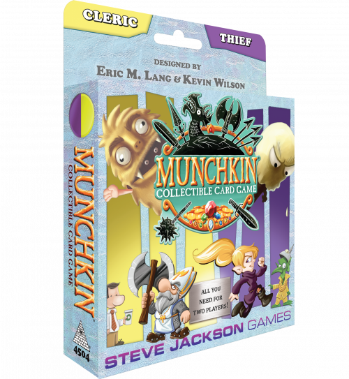 Munchkin Collectible Card Game Cleric & Thief Starter Set