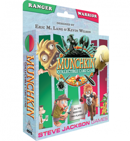 Munchkin Collectible Card Game Ranger & Warrior Starter Set