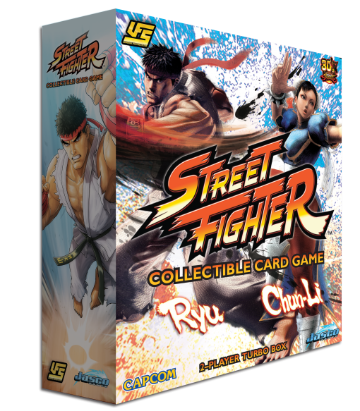 Street Fighter: Collectible Card Game Two-Player Turbo Box | Kessel Run Games Inc.