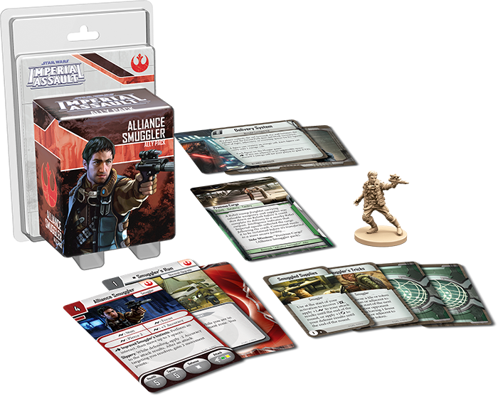 Star Wars: Imperial Assault - Alliance Smuggler Ally Pack | Kessel Run Games Inc.
