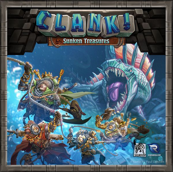 Clank!: Sunken Treasures Expansion | Kessel Run Games Inc.