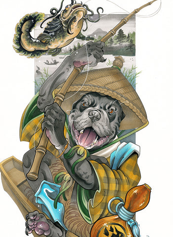 Fishing Pup
