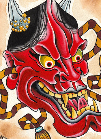 Hannya Flash Sheet