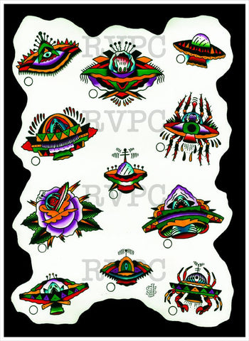 UFO Flash Sheet