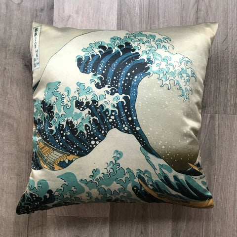 The Great Wave Pillow