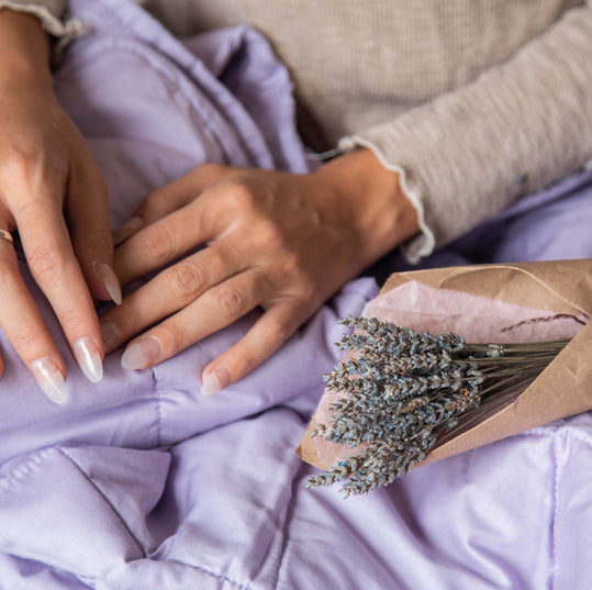 Essential Blankets The Essential Blanket - 15lb Lavender-infused Weighted Blanket