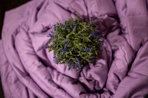 The Essential Blanket - 15lb Lavender-infused Weighted Blanket