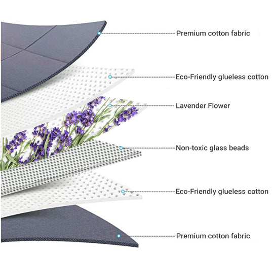 Essential Blankets The Essential Blanket - 15lb Lavender-infused Weighted Blanket [Spring]