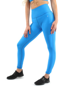 SALE! 50% OFF! Positano Activewear Set - Leggings & Sports Bra - Aqua [MADE IN ITALY] - Size Small