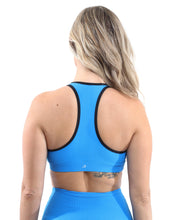 Load image into Gallery viewer, SALE! 50% OFF! Positano Activewear Set - Leggings & Sports Bra - Aqua [MADE IN ITALY] - Size Small