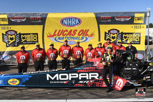 DSR Doubles-Up at Brainerd – Leah Pritchett and Ron Capps Race to Victory