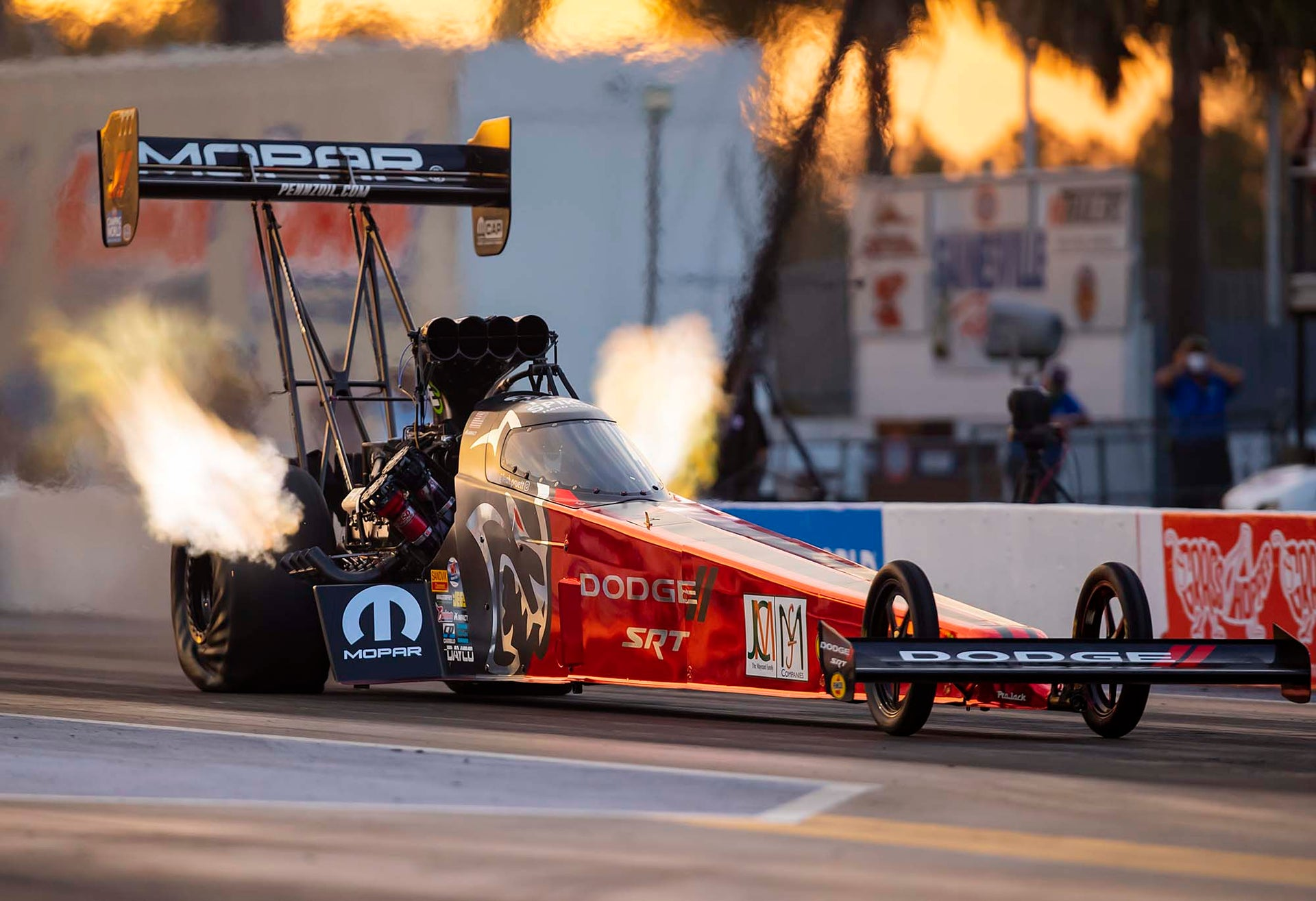 Leah Goes 3rd Quickest in Top Fuel, Gatornats Qualifying