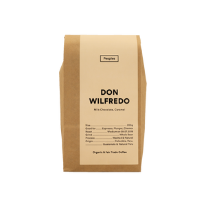 People's Coffee - Don Wilfredo Plunger 500g