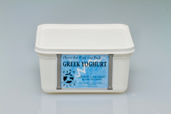 Zany Zeus Natural Greek Yoghurt - 1kg
