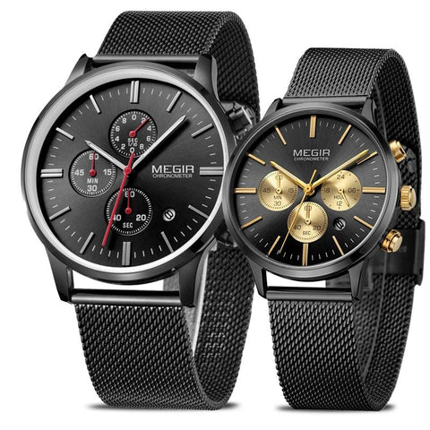 REEVES Quartz Watch Set