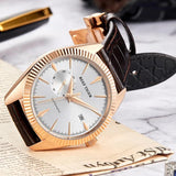 Men's Mechanical Self-Winding Watch on Desk